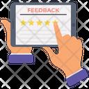 Ratings Online Feedback Star Ratings Icon