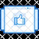 Customer Feedback Online Feedback Online Review Icon