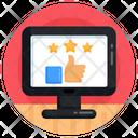 Online Ratings Online Feedback Online Rankings Icon