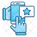 Online Feedback Rate Icon