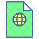 File Online File Online Document Icon