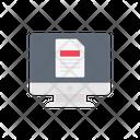 File Document Screen Icon