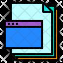Website Files Paper Icon