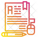 File Pen Education Icon