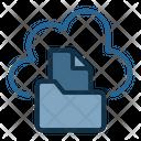 File Online Data Icon