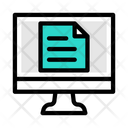 Online File Online Document Document Icon