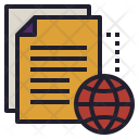 Online File Transfer Icon