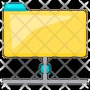 Online File Net Network Icon