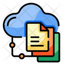 Online File Sharing Icon