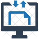 Computer File Share Icon