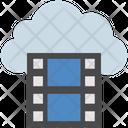 Cloud Computing Film Icon