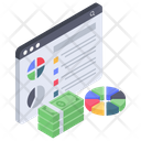 Statistics Analytics Business Analytics Icon