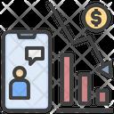 Online Finance Loss Online Trading Online Finance Advise Icon