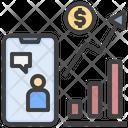 Online Finance Profit Online Trading Online Finance Advice Icon