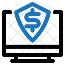 Online Finance Security Secure Shield Icon