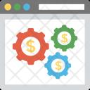 Online Finance System Icon