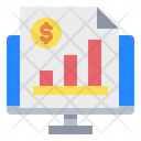 Online Financial Report Icon