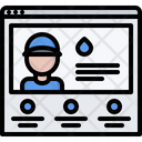 Online find plumber Icon