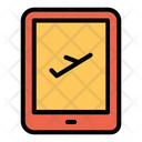 Tab Booking Flight Icon