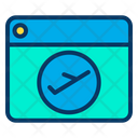 Airplane Browser Flight Icon