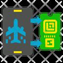 Flight Checkin Aviation Icon