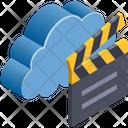 Cloud Computing Shooting Icon