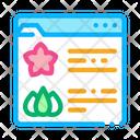 Flower Shop Web Icon