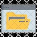 Online Folder Icon