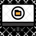 Online Folder Web Document Online Documentation Icon