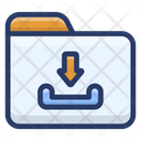 Online Folder Download Icon