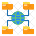 File Data Network Icon