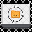 Online Folder Recycling Folder Repeat Folder Reload Icon