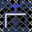 Online Folders Icon