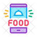 Food Delivery Phone Icon