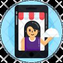 Food App Online Food Restaurant App Icon