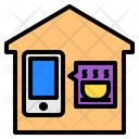 House Shopping Smartphone Icon