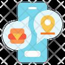 Delivery Service Location Icon