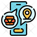 Delivery Service Location Icon
