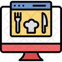 Food Delivery Menu Online Icon