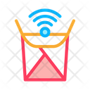Food Box Wifi Icon