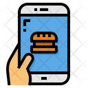 Food Order Smartphone Icon