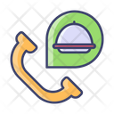 Call Order Food Icon