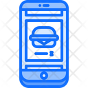 Online food ordering app Icon