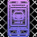 Phone Burger Shop Icon