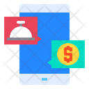 Mobile Online Food Icon