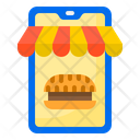 Food Delivery Store Icon