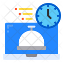 Computer Food Delivery Icon