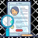 Online Form Online Application Online Admission Icon