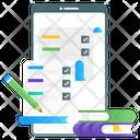 Online Form Digital Form Online List Icon