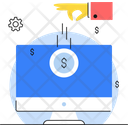Online Funding Funding Platform Cloud Funding Icon